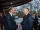 PRESEDINTELE REPUBLICII MOLDOVA A AVUT O INTREVEDERE CU PRESEDINTELE ADUNARII PARLAMENTARE A CONSILIULUI EUROPEI