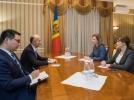 PRIMA DOAMNA A AVUT O INTREVEDERE CU AMBASADORUL CHINEI IN R. MOLDOVA