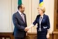 PRESEDINTELE PARLAMENTULUI A AVUT O INTREVEDERE CU AMBASADORUL EMIRATELOR ARABE UNITE IN REPUBLICA MOLDOVA