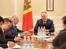 PRESEDINTELE R. MOLDOVA A AVUT O INTREVEDERE CU AMBASADORII STATELOR EX-SOVIETICE, ACREDITATI LA CHISINAU