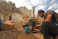 """NYT: Fugind de un razboi modern, sirienii si-au gasit refugiu in ruinele antice: """"Si noi am devenit ruine"""""""