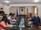 PRESEDINTELE REPUBLICII MOLDOVA A AVUT O DISCUTIE CU REPREZENTANTII CONSILIULUI SUPERIOR AL MAGISTRATURII