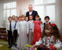 PRESEDINTELE MOLDOVEI A VIZITAT DOUA GRADINITE DIN RAIONUL BASARABEASCA