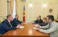 PRESEDINTELE R. MOLDOVA A AVUT O INTREVEDERE CU AMBASADORUL SUA