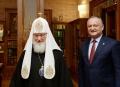 MESAJ DE FELICITARE ADRESAT SANCTITATII SALE KIRIL, PATRIARHUL MOSCOVEI SI AL INTREGII RUSII