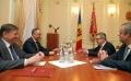 PRESEDINTELE R. MOLDOVA, IGOR DODON, A AVUT O INTREVEDERE CU SEFUL DELEGATIEI UE IN R. MOLDOVA