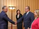 PRESEDINTELE R. MOLDOVA A AVUT O INTREVEDERE CU SECRETARUL DE STAT AL MINISTERULUI FEDERAL PENTRU FINANTE DIN AUSTRIA
