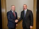 PRESEDINTELE R. MOLDOVA A AVUT O INTREVEDERE CU PRESEDINTELE REPUBLICII AZERBAIDJAN