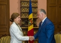 PRESEDINTELE R. MOLDOVA A AVUT O INTREVEDERE CU AMBASADORUL SUEDIEI