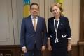 PRESEDINTELE PARLAMENTULUI A AVUT O INTREVEDERE CU AMBASADORUL REPUBLICII KAZAHSTAN