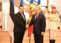 PRESEDINTELE R. MOLDOVA A AVUT O INTREVEDERE CU PRIM-MINISTRUL R. ESTONIA