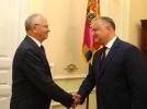 PRESEDINTELE IGOR DODON A AVUT O INTREVEDERE CU AMBASADORUL EXTRAORDINAR SI PLENIPOTENTIAR AL FEDERATIEI RUSE IN REPUBLICA MOLDOVA, FARIT MUHAMETSIN