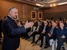 IGOR DODON A AVUT O INTREVEDERE CU REPREZENTANTII DIASPOREI MOLDOVENESTI IN STATUL ISRAEL