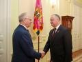 IGOR DODON A AVUT O INTREVEDERE CU AMBASADORUL FEDERATIEI RUSE IN REPUBLICA MOLDOVA, FARIT MUHAMETSIN