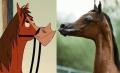 În SUA a fost creat un cal care pare scos din desenele animate