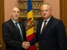 PRESEDINTELE R. MOLDOVA A AVUT O INTREVEDERE CU AMBASADORUL EXTRAORDINAR SI PLENIPOTENTIAR AL SUA IN TARA NOASTRA