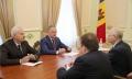 PRESEDINTELE MOLDOVEI A AVUT O INTREVEDERE CU AMBASADORUL RUSIEI, FARIT MUHAMETSIN