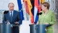 Pentru prima data, dupa anexarea Crimeii de catre Rusia, a demarat primul summit Merkel - Putin
