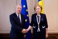 PRESEDINTELE PARLAMENTULUI A AVUT O INTREVEDERE CU AMBASADORUL REPUBLICII BULGARIA IN MOLDOVA