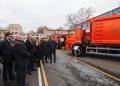 "FEDERATIA RUSA A TRANSMIS GRATIS R. MOLDOVA PRIMUL LOT DE AUTOSPECIALE ""KAMAZ"""