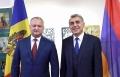 SEFUL STATULUI A AVUT O INTREVEDERE CU VICE-PRESEDINTELE FEDERATIEI DE SAH DIN ARMENIA