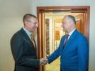 PRESEDINTELE REPUBLICII MOLDOVA A AVUT O INTREVEDERE DE LUCRU CU MINISTRUL AFACERILOR EXTERNE AL REPUBLICII LETONE