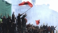 Proteste violente in fata Parlamentului de la Tirana: Politia a intervenit cu gaze lacrimogene