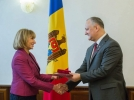 PRESEDINTELE IGOR DODON A AVUT O INTREVEDERE CU DAFINA GERCHEVA, REZIDENT-COORDONATOR AL ONU IN MOLDOVA