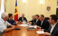 Presedintele tarii a prezidat sedinta de lucru a serviciului Consiliului Suprem de Securitate