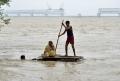 Potop în India. Un milion de persoane sunt sinistrate