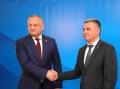 PRESEDINTELE R. MOLDOVA, IGOR DODON, A AVUT O INTREVEDERE CU LIDERUL TRANSNISTREAN, VADIM KRASNOSELSKI
