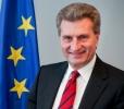 COMISARUL EUROPEAN G. OETTINGER ŞI PRIM-MINISTRUL ROMÂNIEI VOR VENI ÎN R. MOLDOVA LA INAUGURAREA GAZODUCTULUI IAŞI-UNGHENI