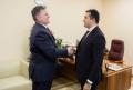 SECRETARUL GENERAL AL PARLAMENTULUI, ADRIAN ALBU, A AVUT O INTREVEDERE CU SEFUL ADJUNCT AL MISIUNII SUA IN REPUBLICA MOLDOVA, MARTIN MCDOWELL