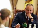 IGOR DODON, PRESEDINTELE REPUBLICII MOLDOVA A PRIMIT CETATENI IN AUDIENTA