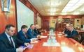PRESEDINTELE IGOR DODON A AVUT O INTREVEDERE CU DMITRI KOZAK, VICEPRIM-MINISTRUL FEDERATIEI RUSE
