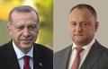 PRESEDINTELE R. MOLDOVA, IGOR DODON, A AVUT O DISCUTIE TELEFONICA CU PRESEDINTELE R. TURCIA, RECEP TAYYIP ERDOGAN
