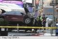 UN MORT SI 22 DE RANITI, IN TIMES SQUARE DIN NEW YORK, DUPA CE UN SOFER A INTRAT CU MASINA IN PIETONI