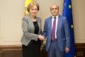 PRESEDINTELE PARLAMENTULUI A AVUT O INTREVEDERE CU AMBASADORUL REPUBLICII ARMENIA IN REPUBLICA MOLDOVA