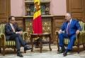 PRESEDINTELE R. MOLDOVA A AVUT O INTREVEDERE CU NOUL SEF AL MISIUNII OSCE
