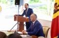 PRESEDINTELE IGOR DODON A FACUT UN SUCCINT BILANT AL ACTIVITATII SALE IN FUNCTIA DE PRESEDINTE