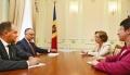 PRESEDINTELE R. MOLDOVA, IGOR DODON, A AVUT O INTREVEDERE CU NOUL AMBASADOR AL GERMANIEI, JULIA MONAR
