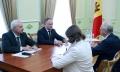 IGOR DODON A AVUT O INTREVEDERE CU AMBASADORUL EXTRAORDINAR SI PLENIPOTENTIAR AL FEDERATIEI RUSE IN REPUBLICA MOLDOVA, FARIT MUHAMETSIN