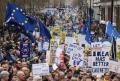 Proteste istorice cu un milion de oameni, la Londra. Cer un nou referendum pentru Brexit