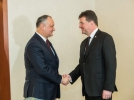 PRESEDINTELE REPUBLICII MOLDOVA A AVUT O INTREVEDERE CU PRESEDINTELE IN EXERCITIU AL OSCE