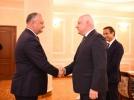 PRESEDINTELE R. MOLDOVA S-A INTILNIT CU DELEGATIA ADUNARII PARLAMENTARE A OSCE