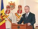 IGOR DODON, PRESEDINTELE REPUBLICII MOLDOVA A CONFERIT DISTINCTII DE STAT CU PRILEJUL ZILEI SOLIDARITATII OAMENILOR MUNCII