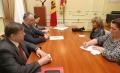 PRESEDINTELE S-A INTILNIT CU COORDONATORUL REZIDENT AL ONU SI REPREZENTANT PNUD IN REPUBLICA MOLDOVA, DAFINA GERCHEVA