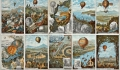 Povestea fratilor Montgolfier, inventatorii balonului cu aer cald. Dintr-un experiment facut de distractie, au ajuns la crearea primului vehicul zburator functional