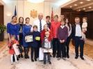 FAMILIA PASCARI DIN SATUL SUVOROVCA A PRIMIT SPRIJIN DIN PARTEA SEFULUI STATULUI