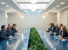PRESEDINTELE REPUBLICII MOLDOVA A AVUT O INTREVEDERE CU DELEGATIA DEPARTAMENTULUI DE STAT SUA